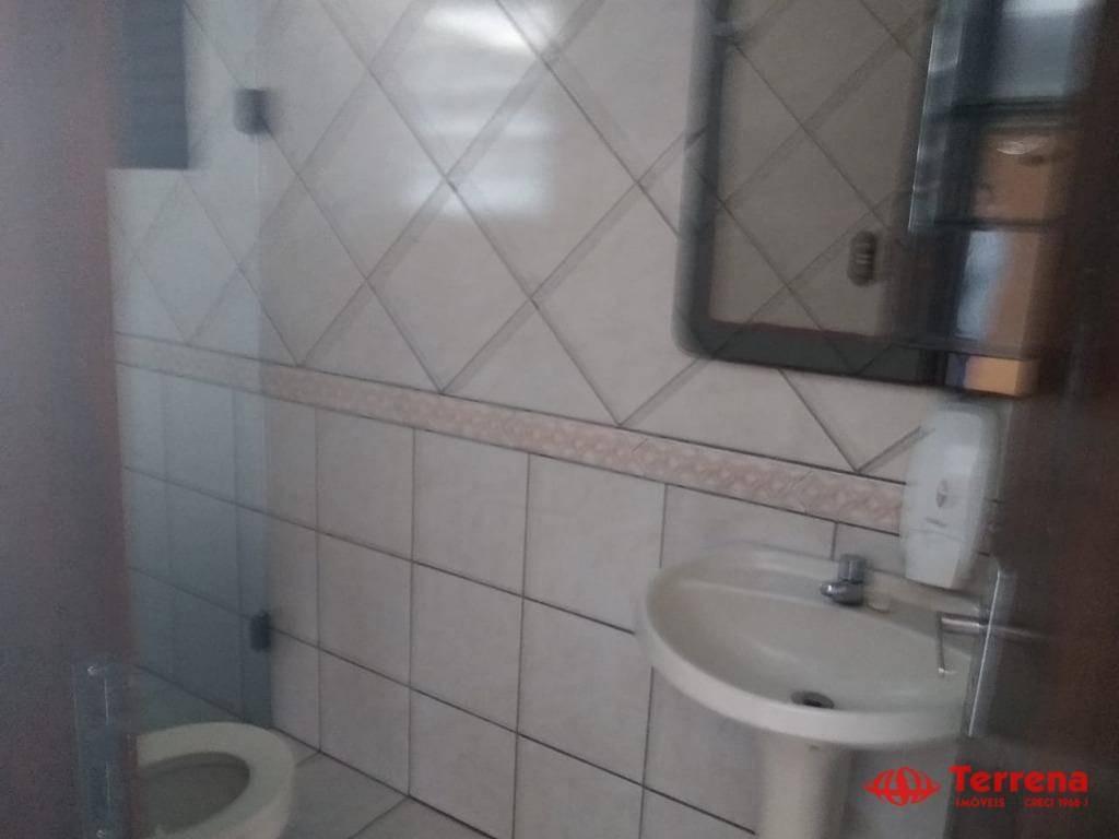 sala para alugar, 250 m² por r$ 3.700/mês - água verde - blumenau/sc - sa0117