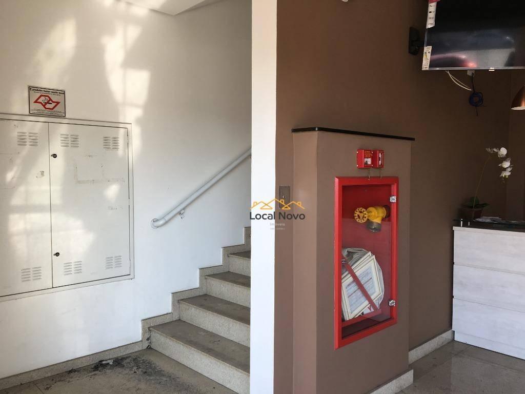 sala para alugar, 26 m² por r$ 1.000/mês - jardim santa mena - guarulhos/sp - sa0016