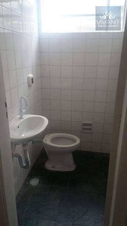 sala para alugar, 26 m² por r$ 800/mês - centro - suzano/sp - sa0076