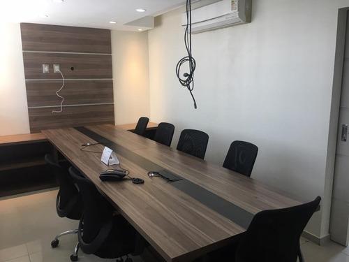 sala para alugar, 275 m² por r$ 10.000,00/mês - madalena - recife/pe - sa0270