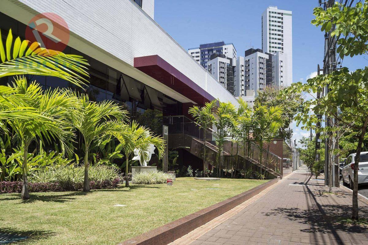 sala para alugar, 31 m² por r$ 840/mês - casa amarela - recife/pe - sa0322