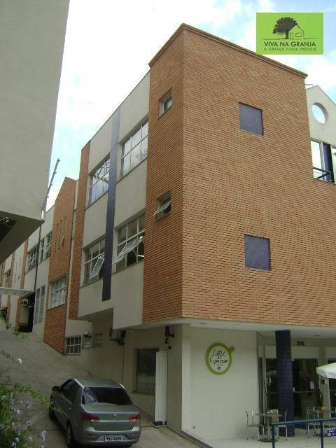sala para alugar, 32 m² por r$ 1.354/mês - granja viana - cotia/sp - sa0160