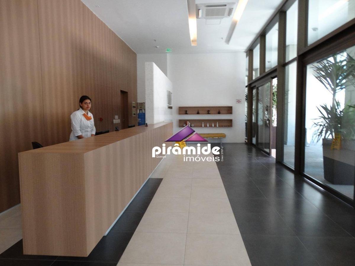 sala para alugar, 34 m² por r$ 1.400,00/mês - jardim aquarius - são josé dos campos/sp - sa0237
