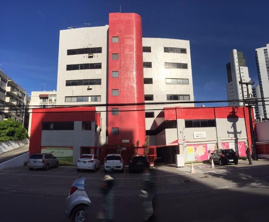 sala para alugar, 34 m² por r$ 1.840,00/mês com taxas - boa viagem - recife/pe - sa0165