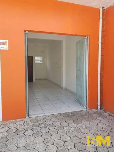 sala para alugar, 35 m² por r$ 850/mês - guanabara - joinville/sc - sa0019
