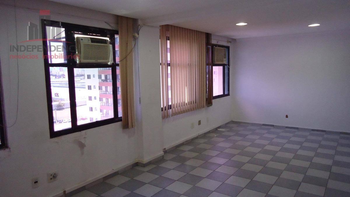 sala para alugar, 36 m² por r$ 700,00/mês - jardim satélite - são josé dos campos/sp - sa0188