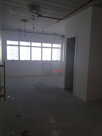 sala para alugar, 37 m² por r$ 1.150,00/mês - jardim aquarius - são josé dos campos/sp - sa0410