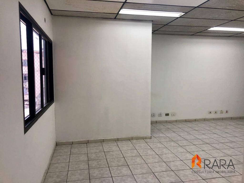 sala para alugar, 38 m² - vila olga - são bernardo do campo/sp - sa0131