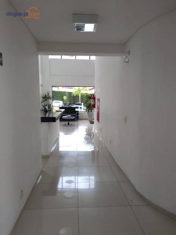 sala para alugar, 40 m² por r$ 1.300/mês - jardim aquarius - são josé dos campos/sp - sa0429