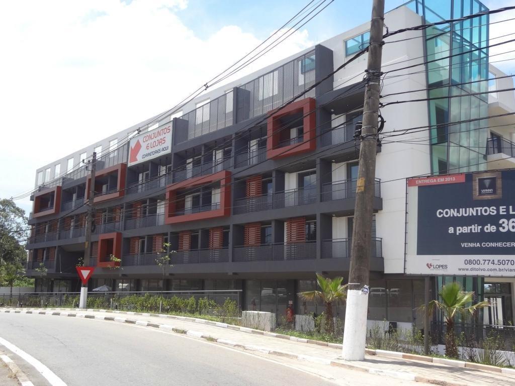 sala para alugar, 40 m² por r$ 1.400,00/mês - vianna espaços modulares - cotia/sp - sa0175