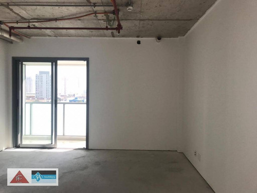 sala para alugar, 40 m² por r$ 2.700/mês - tatuapé - são paulo/sp - sa0535