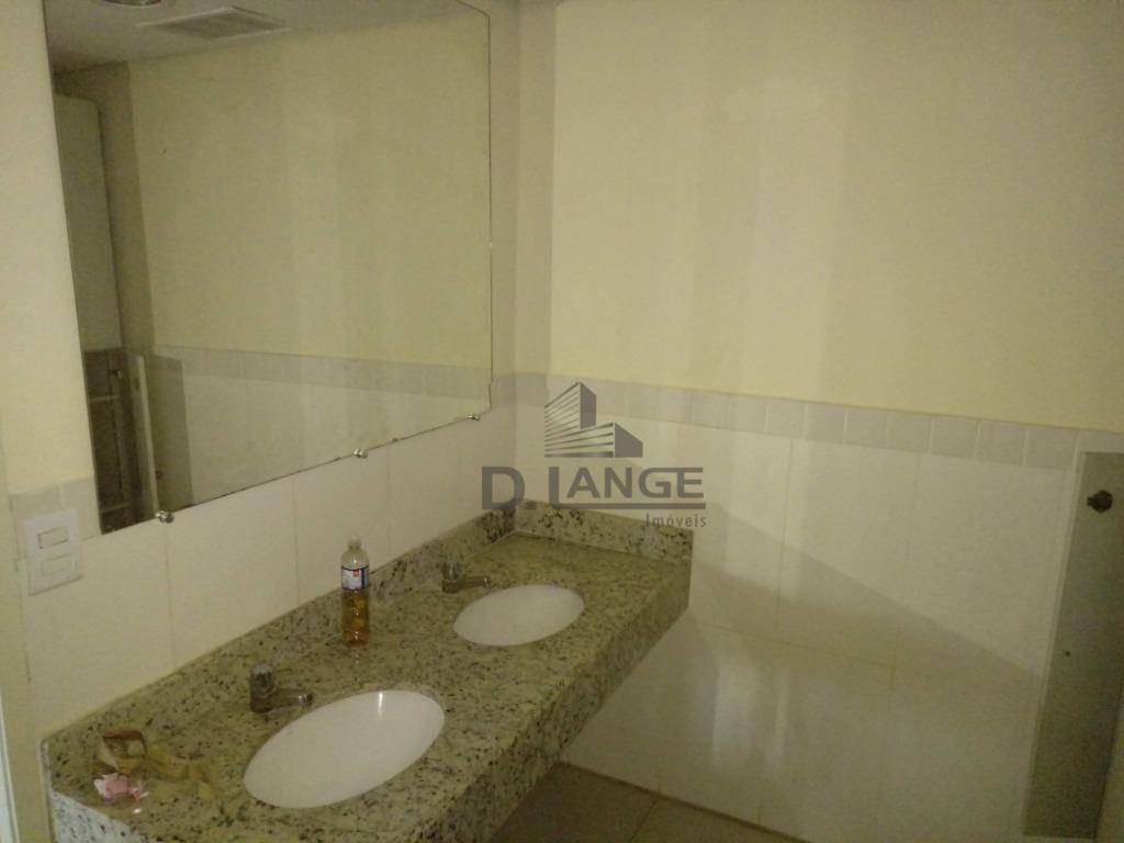 sala para alugar, 400 m² por r$ 8.000,00/mês - centro - campinas/sp - sa1859