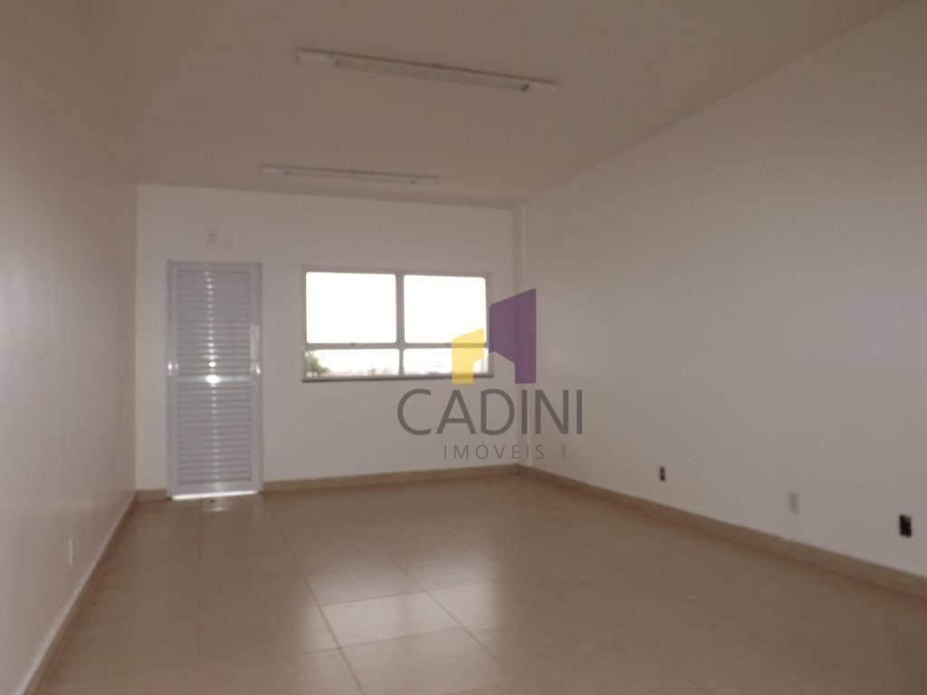 sala para alugar, 41 m² por r$ 950/mês - cataratas - cascavel/pr - sa0169