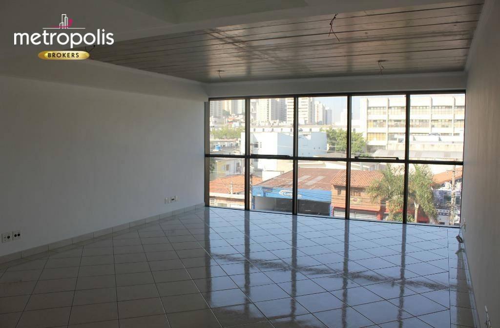 sala para alugar, 42 m² por r$ 1.500,00/mês - santo antônio - são caetano do sul/sp - sa0297