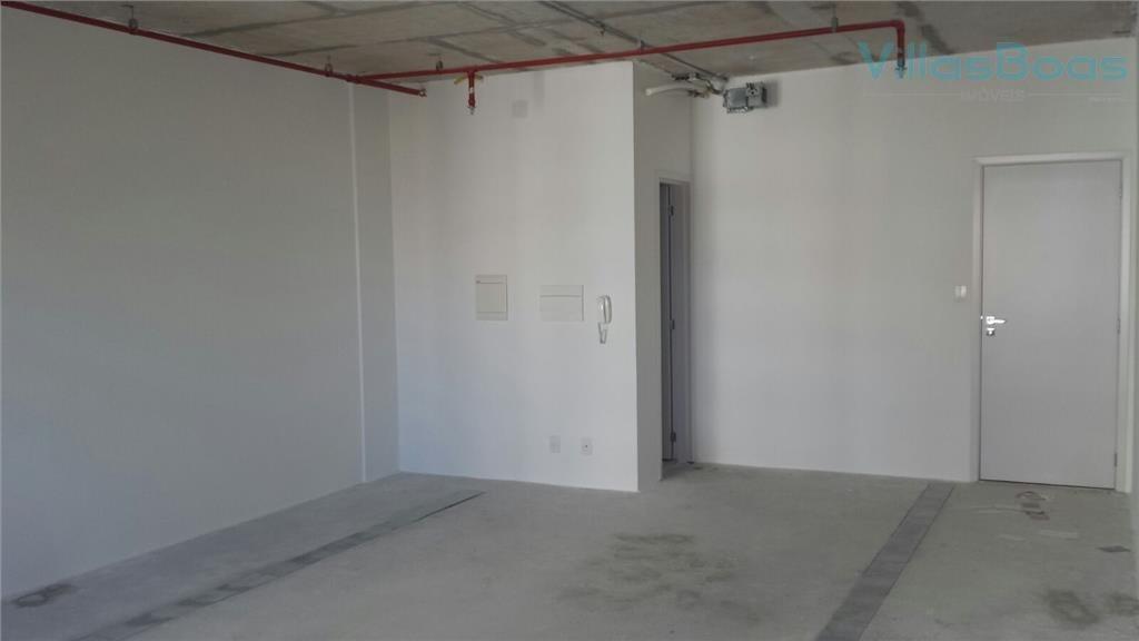 sala para alugar, 43 m² por r$ 1.400,00/mês - jardim aquarius - são josé dos campos/sp - sa0232