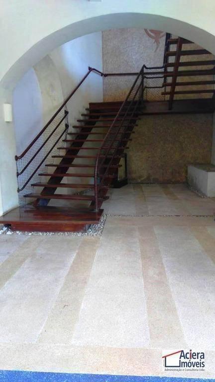 sala para alugar, 44 m² - miolo da granja - cotia/sp - sa0029