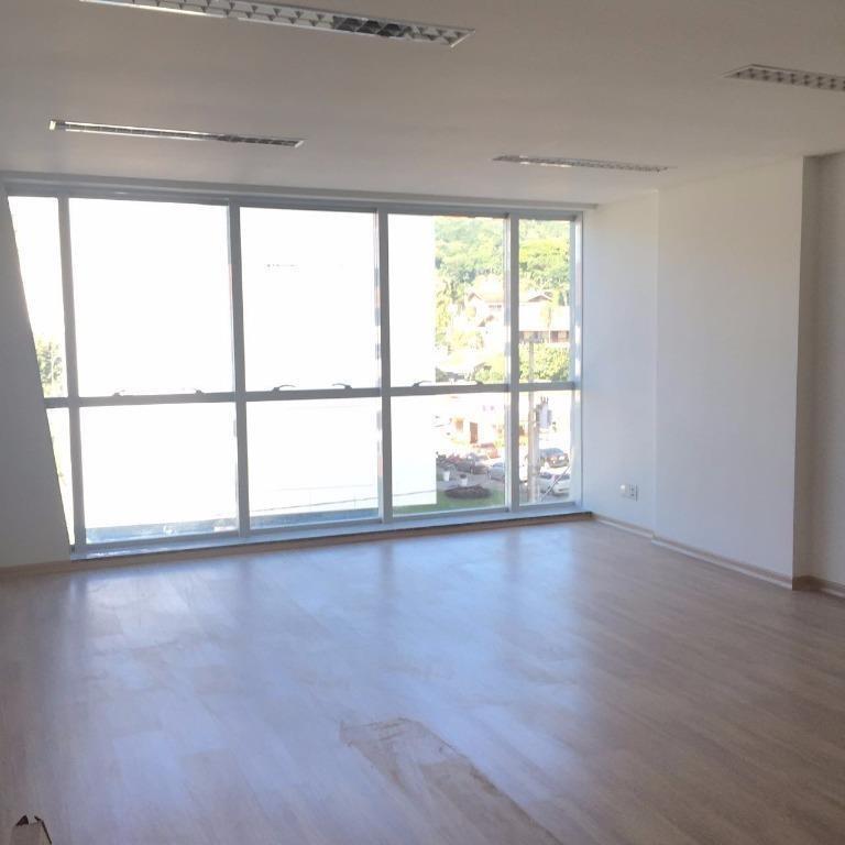 sala para alugar, 44 m² por r$ 1.800/mês - velha - blumenau/sc - sa0385