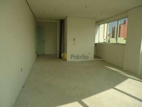 sala para alugar, 45 m² por r$ 1.320/mês - centro - são bernardo do campo/sp - sa0117