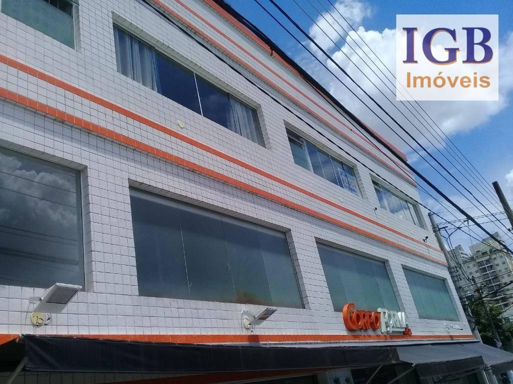 sala para alugar, 45 m² por r$ 1.800/mês - perdizes - são paulo/sp - sa0050