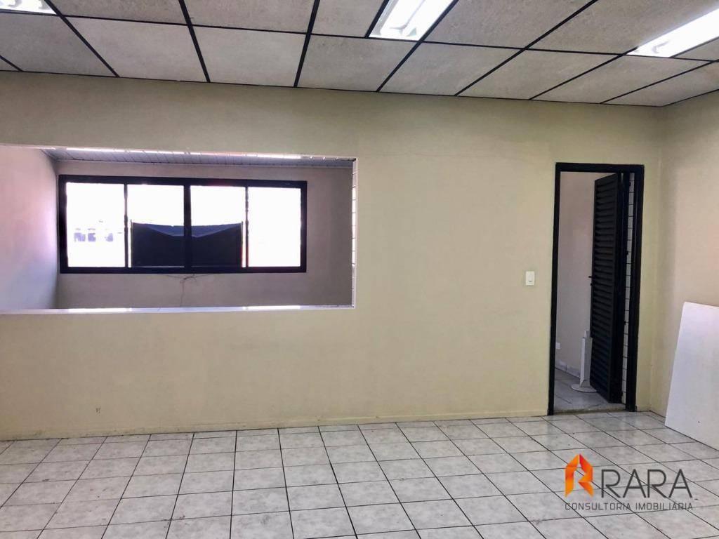sala para alugar, 45 m² por r$ 750/mês - vila olga - são bernardo do campo/sp - sa0129