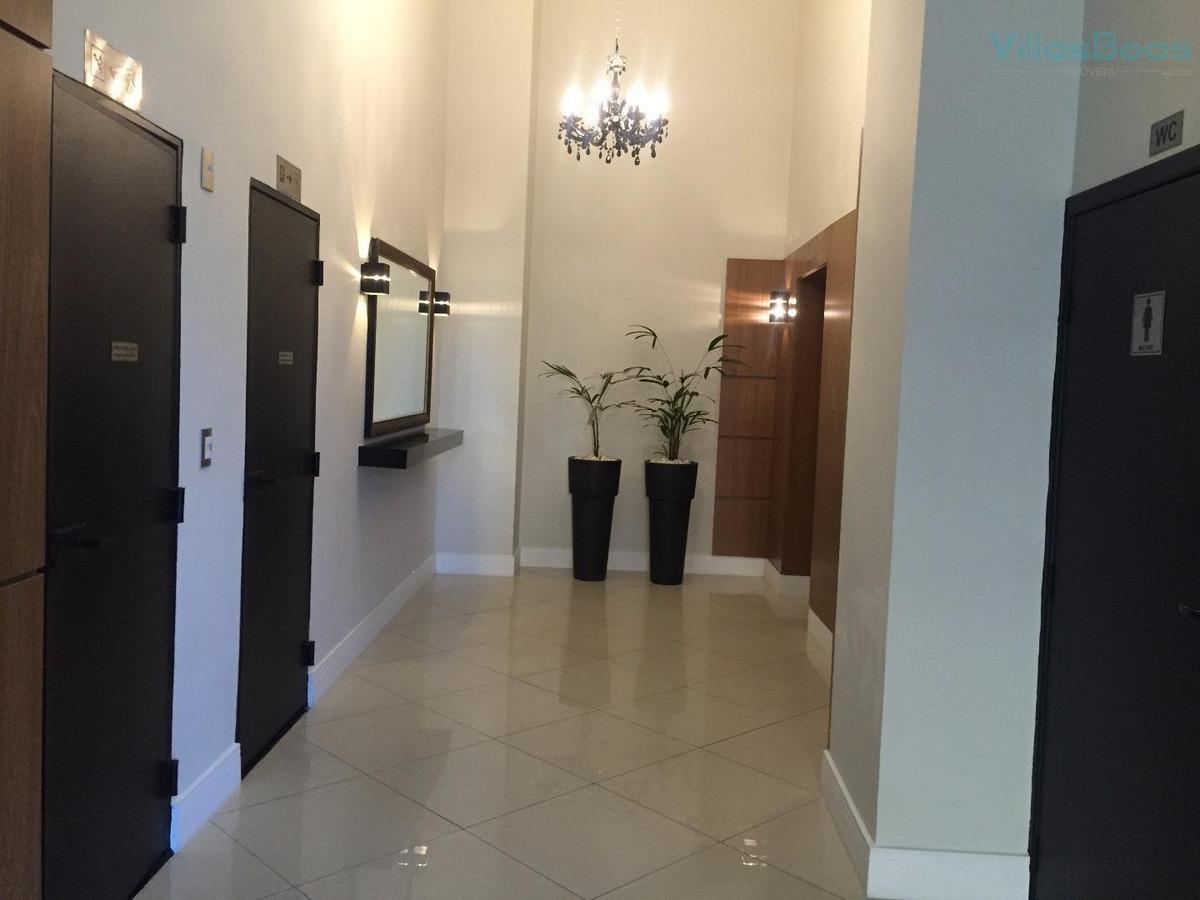 sala para alugar, 47 m² por r$ 1.500 - jardim aquarius - são josé dos campos/sp - sa0036
