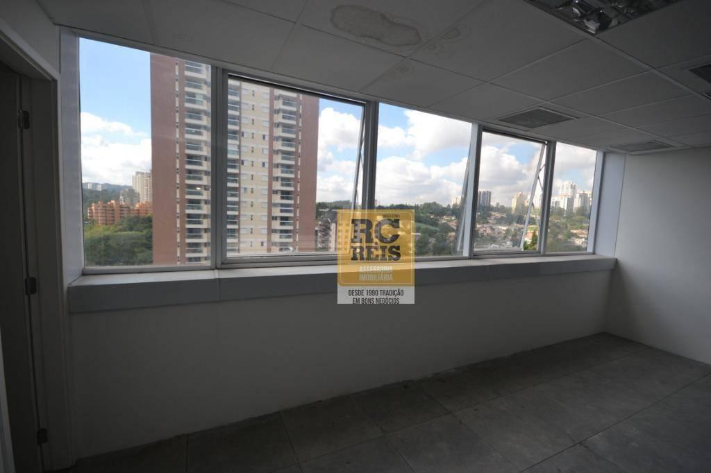 sala para alugar, 47 m² por r$ 2.115/mês - alphaville - barueri/sp - sa0225