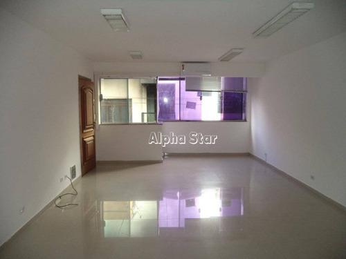 sala para alugar, 48 m² por r$ 1.500/mês - condomínio centro comercial alphaville - barueri/sp - sa0316