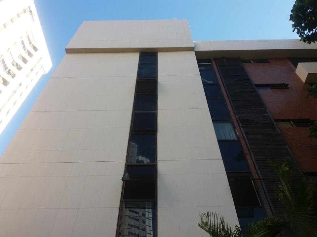 sala para alugar, 49 m² por r$ 2.930,00/mês com taxas - boa viagem - recife/pe - sa0231
