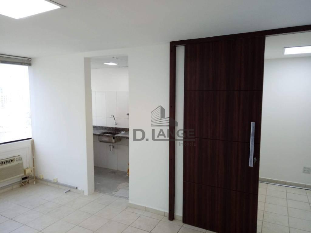sala para alugar, 50 m² por r$ 1.200,00/mês - centro - campinas/sp - sa1855