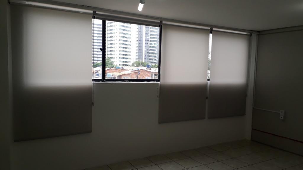 sala para alugar, 50 m² por r$ 2.311,00/mês com taxas - boa viagem - recife/pe - sa0163