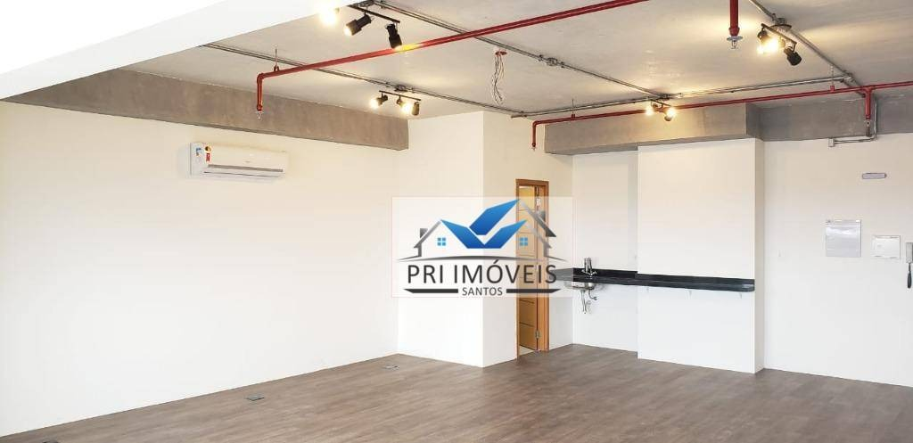 sala para alugar, 60 m² por r$ 2.700,00/mês - centro - santos/sp - sa0018