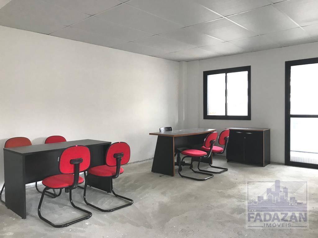 sala para alugar, 67 m² por r$ 2.000,00/mês - centro - curitiba/pr - sa0043