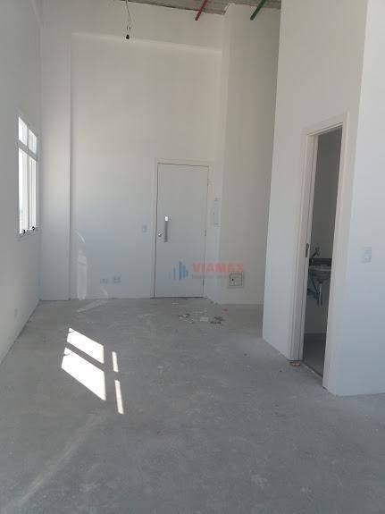 sala para alugar, 70 m² por r$ 2.500,00/mês - jardim aquarius - são josé dos campos/sp - sa0413
