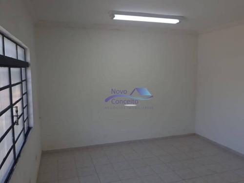 sala para alugar, 75 m² por r$ 1.200,00/mês - jardim aricanduva - são paulo/sp - sa0011