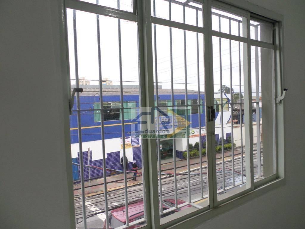 sala para alugar, 75 m² por r$ 1.600/mês - parque suzano - suzano/sp - sa0051