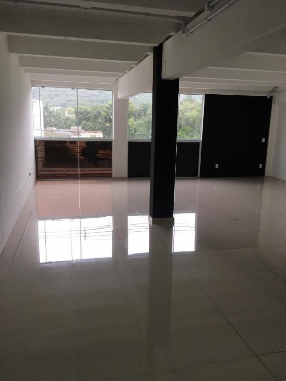 sala para alugar, 77 m² por r$ 1.500/mês - velha - blumenau/sc - sa0454