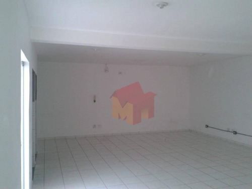sala para alugar, 82 m² por r$ 700/mês - nova americana - americana/sp - sa0018