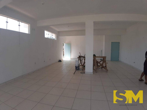 sala para alugar, 90 m² por r$ 1.800/mês - itinga - araquari/sc - sa0013