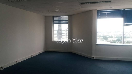 sala para alugar no 12° andar, 105 m² por r$ 3.000/mês - alphaville industrial - barueri/sp - sa0305