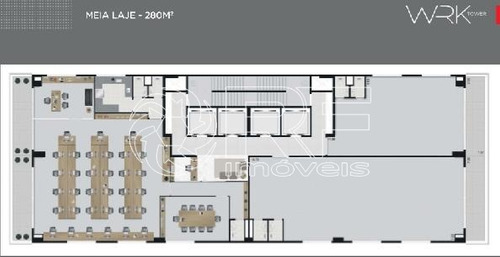 sala para aluguel em liberdade - sa004083