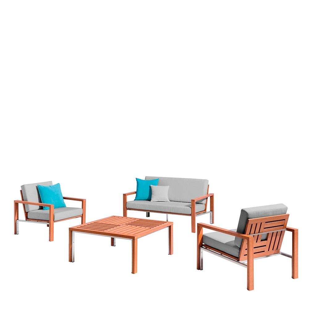 Sala De Teca Para Exterior Bek Modelo 5 70 000 00 En Mercado Libre # Bek Muebles Para Exterior