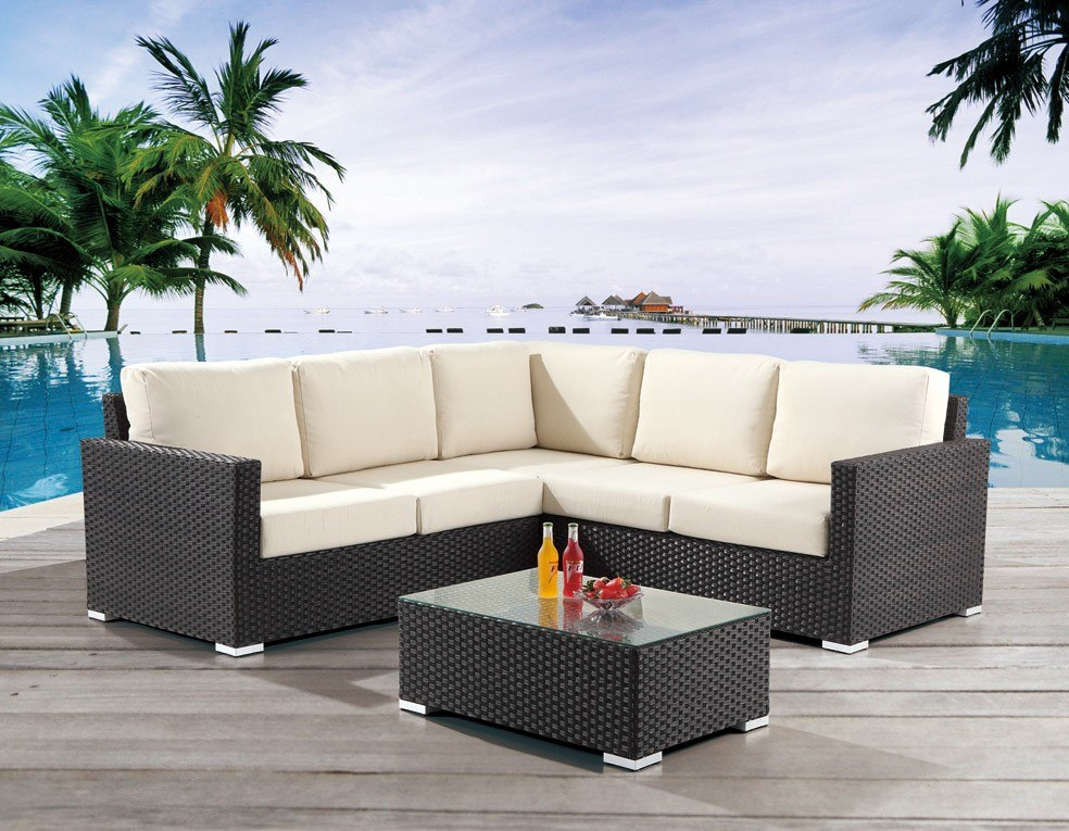 Sala rattan sintetico ideal para exterior 34 - Muebles para terrazas exteriores ...
