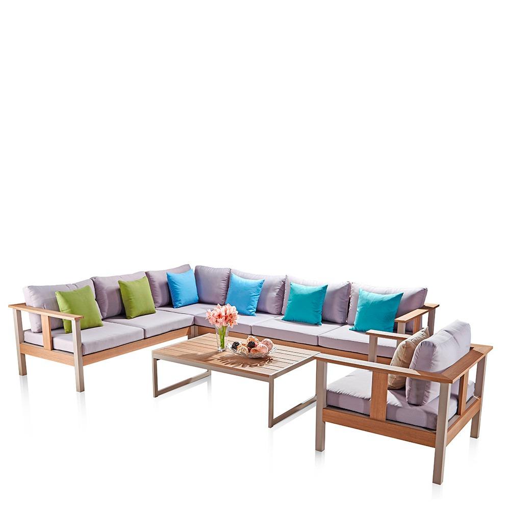 Sala De Teca Para Exterior Bek Modelo 1 92 488 00 En Mercado Libre # Bek Muebles Para Exterior