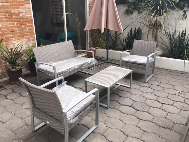 Sala para exterior jardin o terraza 7 en for Salas de terraza