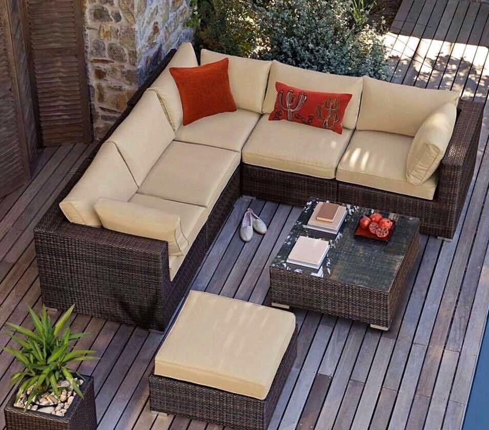 Magnfico Muebles Rattan Jardin Motivo Ideas de Decoracin de