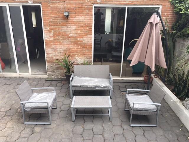 Sala para jardin o set de patio 6 en mercado libre for Set muebles jardin baratos