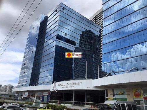 sala para locação no wall street  - 33  m² -  valor: r$ 3.600,00  + r$ 1. 500,00 condomínio, podendo ser transformado em 3 salas - tbm8578 - 4439051