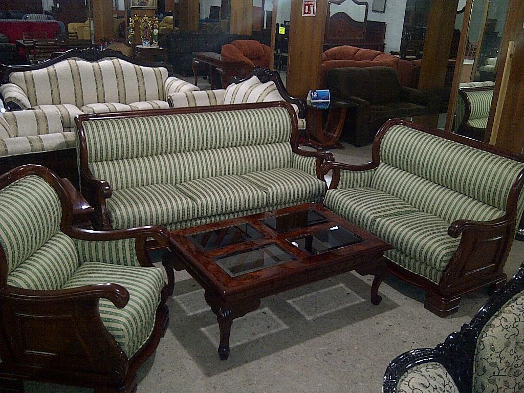Sala provenzal modelo marquiz tallada a mano madera fina 31 en mercado libre for Salas de madera modernas