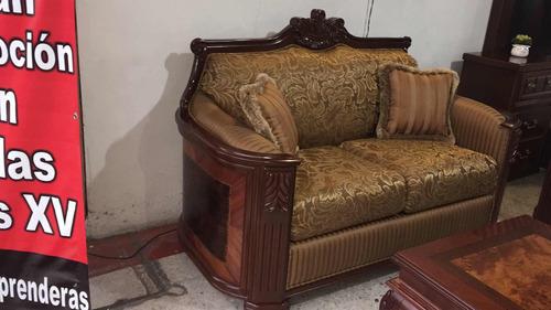 sala provenzal modelo padova tallada a mano en madera fina