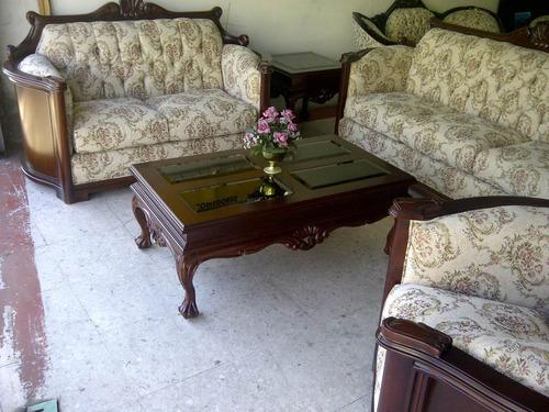 sala provenzal padova en madera fina tallada a mano